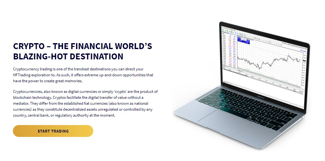 HFTrading cryptocurrency trading