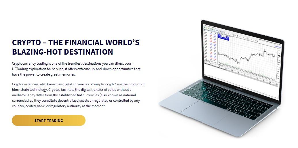 HFTrading cryptocurrency trading